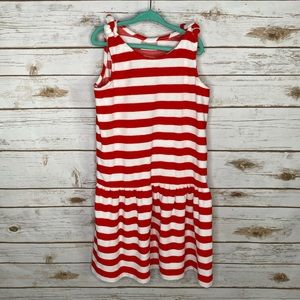 Hanna Andersson striped swim cover up dress